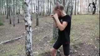 видео Как сделать  боксерскую грушу в домашних условиях????