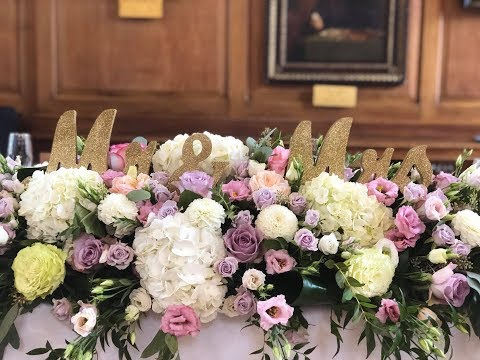 Wedding flowers / event 2018