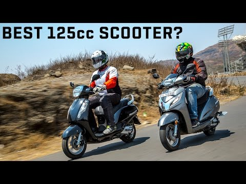 2016 Suzuki Access 125 vs Honda Activa 125 :: Comparison Video Review :: ZigWheels India
