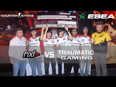 [ESEA Asia Pacific S20 Highlights] TEAMnxl vs Traumatic Gami