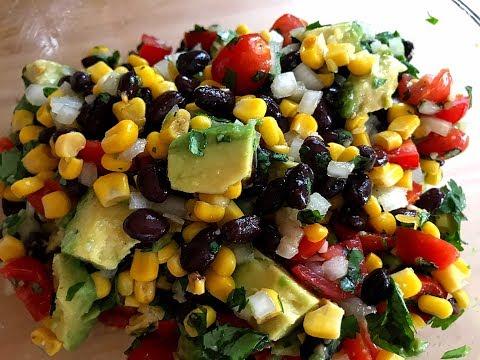 Healthy Black Bean Corn Salad