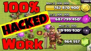 How to Hack Clash of Clans NO ROOT Private Servers 100% Working [ 2018 ]