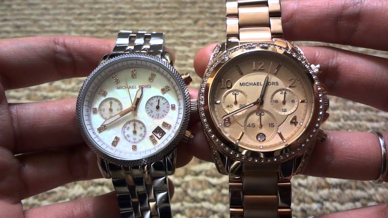 michael kors mk8152 how to tell if fake watch