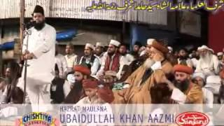 Maulana obaidullah khan azmi taqreer on hamid ashraf at bombay -part-1