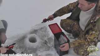 """Рыбалка Астрахань. Зимняя рыбалка. База """"На Калиновке"""".."""