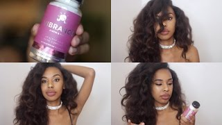 MY Experience with Hair Growth Vitamins + TIPS ft Eu Natural Vibrance