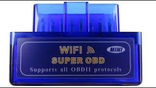 Как подключить сканер OBD2 по Wi-Fi