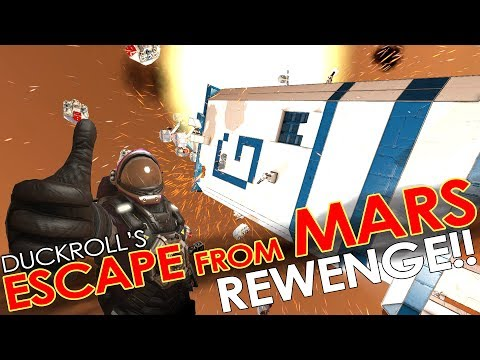 Space Engineers - ESCAPE FROM MARS 'RE-VISIT' - The Boys are Back in Town