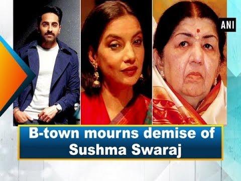 B-town mourns demise of Sushma Swaraj