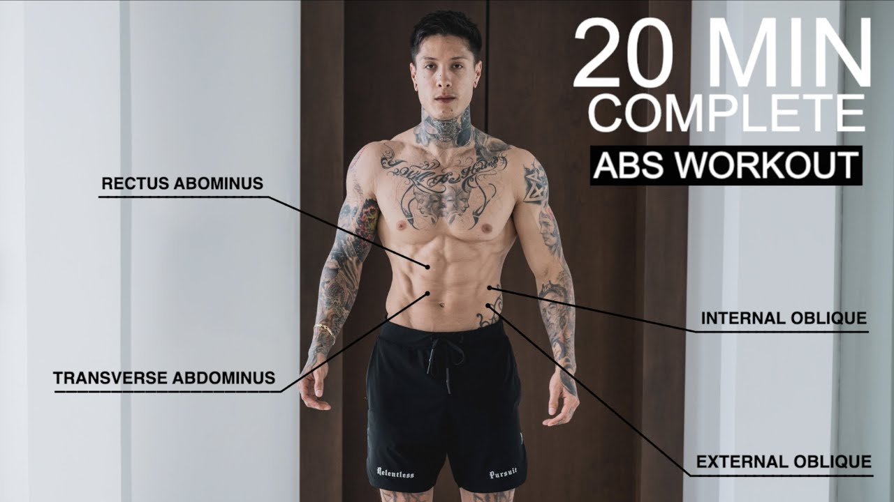 Download COMPLETE 20 MIN ABS WORKOUT (From Home)