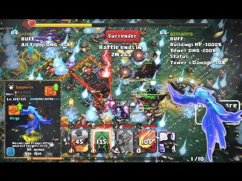 Clash Of Lords 2 - GUILD CLASH #3 | Sapphirix True POWER ! Divine Snow Storm