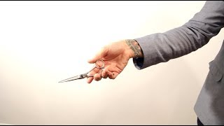 HAIR TUTORIAL: Haircutting Tricks - how to hold your scissors - scissor tricks from Matt Beck