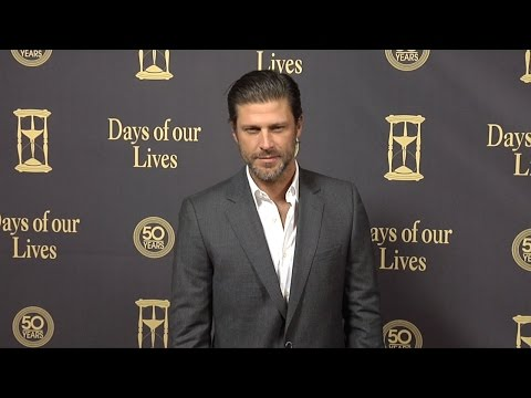Greg Vaughan Red Carpet Style at Days of Our Lives 50 Anniversary Party