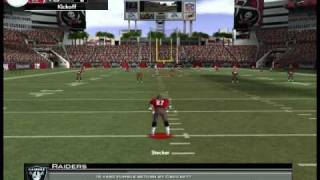 Fraps 3.0.2 Test 20: Madden NFL 2004 Demo Gameplay