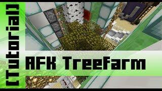 Automatic AFK TreeFarm (for Spruce, Jungle, Birch and Oak) - [Tutorial]