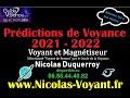 Prédictions 2021 de Voyance pour la France et le Monde par le voyant et médium Nicolas Duquerroy