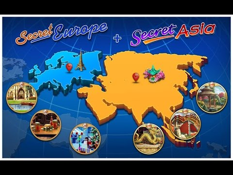 Secret Europe: Hidden Objects is a family-friendly adventure game!