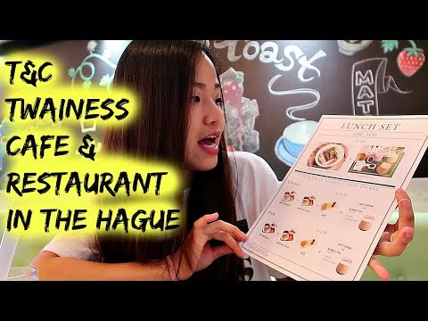 Vlog #10: Hotspots in The Hague: T&C Twainese Cafe - Restaurant