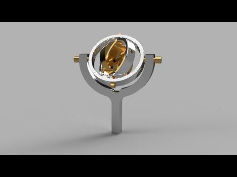 Making a Home Machine Shop Gyroscope MKII