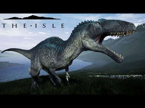 The Isle | NOVO MAPA! Acrocantossauro ATACA! | (Gameplay/PT/BR)