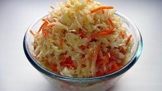 Капуста по - корейски / Вкусно Просто и Полезно / Пошаговый рецепт