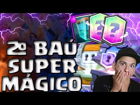 2º BAÚ SUPER MÁGICO - CONSEGUI MAIS DUAS CARTAS LENDÁRIAS