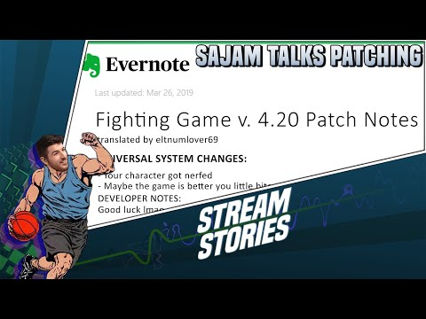 Sajam Talks Patching In Fighting Games