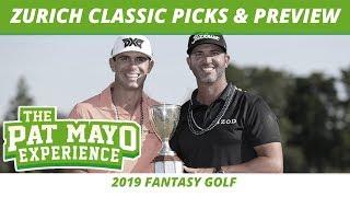 Fantasy Golf Picks - 2019 Zurich Classic Picks, Trophee Hassan II Preview, Major Future Odds