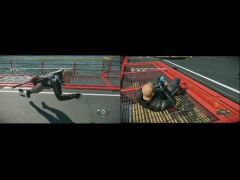 MGSV FOB Security challenge Defense vs royroyq Dual View