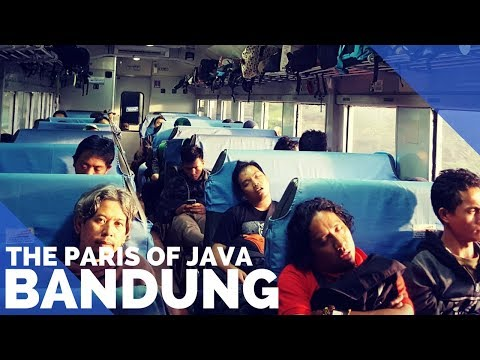 THE PARIS OF JAVA - YOGYAKARTA TO BANDUNG ON THE TRAIN & BRAGA STREET - FIRST WORLD TRAVELLER
