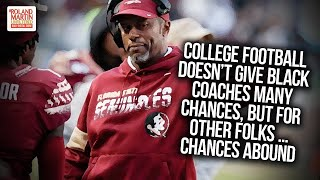 College Football Doesn't Give Black Coaches Many Chances, But For Other Folks ... Chances Abound thumbnail