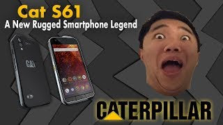 UNBOXING: CAT S61 Rugged Smartphone [THERMAL CAMERA] [NEW FEATURES]