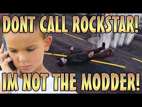 KID CALLS ROCKSTAR ON MODDERS VOICE TROLLING! (GTA 5 Mods)