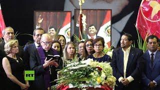 EN VIVO: Funeral del expresidente de Perú Alan García