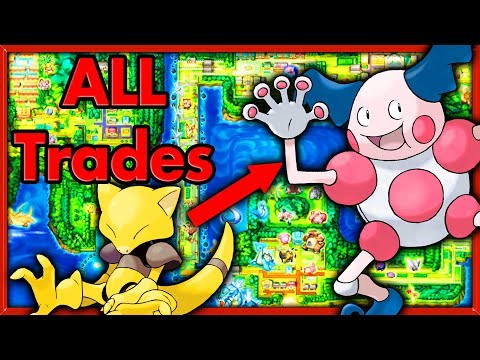 Can I Beat Pokemon Red With Only In Game Traded Pokemon? 🔴 NO ITEMS Pokemon Challenges