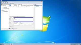 Creating a RAID 1 in Windows 7