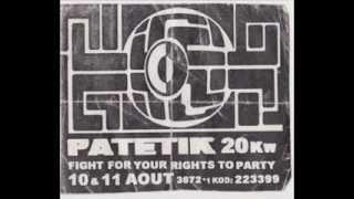 Patetik Sound System  - Vinka - Live @ Teknival Béziers 31.12.2001 - Face A