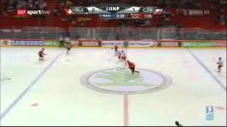Eishockey WM 2013: Ein Moment für die Ewigkeit für's Schweizer Eishockey