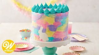 How to Make an Easter Watercolor Cake | Wilton