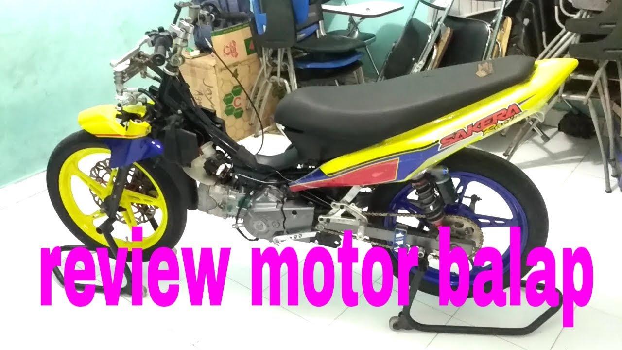 Jupiter Z1 Sakera Racing Review Motor Balap Youtube