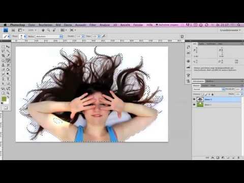 Haare Freistellen (Alpha-Kanal) Photoshop - Webdesign-Podcast.de - Folge 10