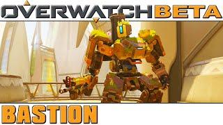 Overwatch - BETA - Bastion [60 FPS]