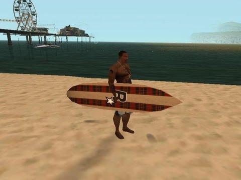 Como colocar a prancha de surf no GTA San Andreas