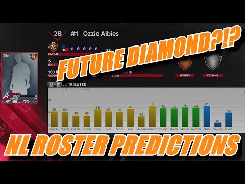 NATIONAL LEAGUE ROSTER UPGRADE PREDICTIONS (Week 1) - MLB The Show 18