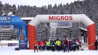 snow walk run arosa 2017 1080P