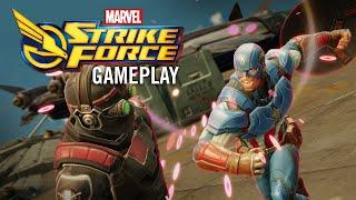 Exploring the Exciting Gameplay of Marvel Strike Force