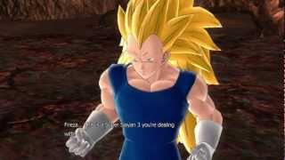Dragonball Z Raging Blast 2 - Galaxy Mode - Vegeta SSJ3