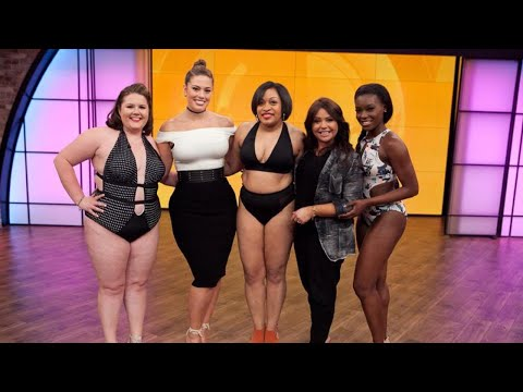 Our Viewers Tried Ashley Graham's New Line of Swimwear + They Look STUNNING