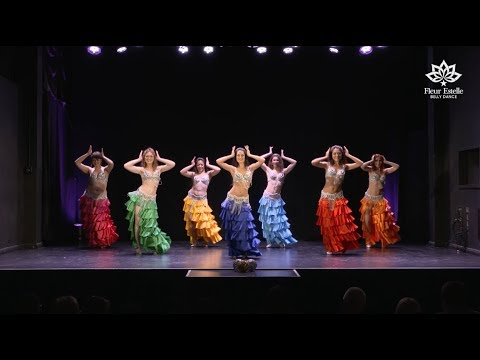 Drum Solo Belly Dance to Emad Sayyah by Fleur Estelle Dance Company