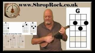 How To Play Really Easy Ukulele (2a) The Blitzkrieg Bop by Chili Monster